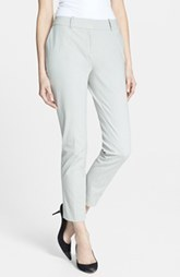 Lafayette 148 New York Polished Twill Skinny Ankle Pant