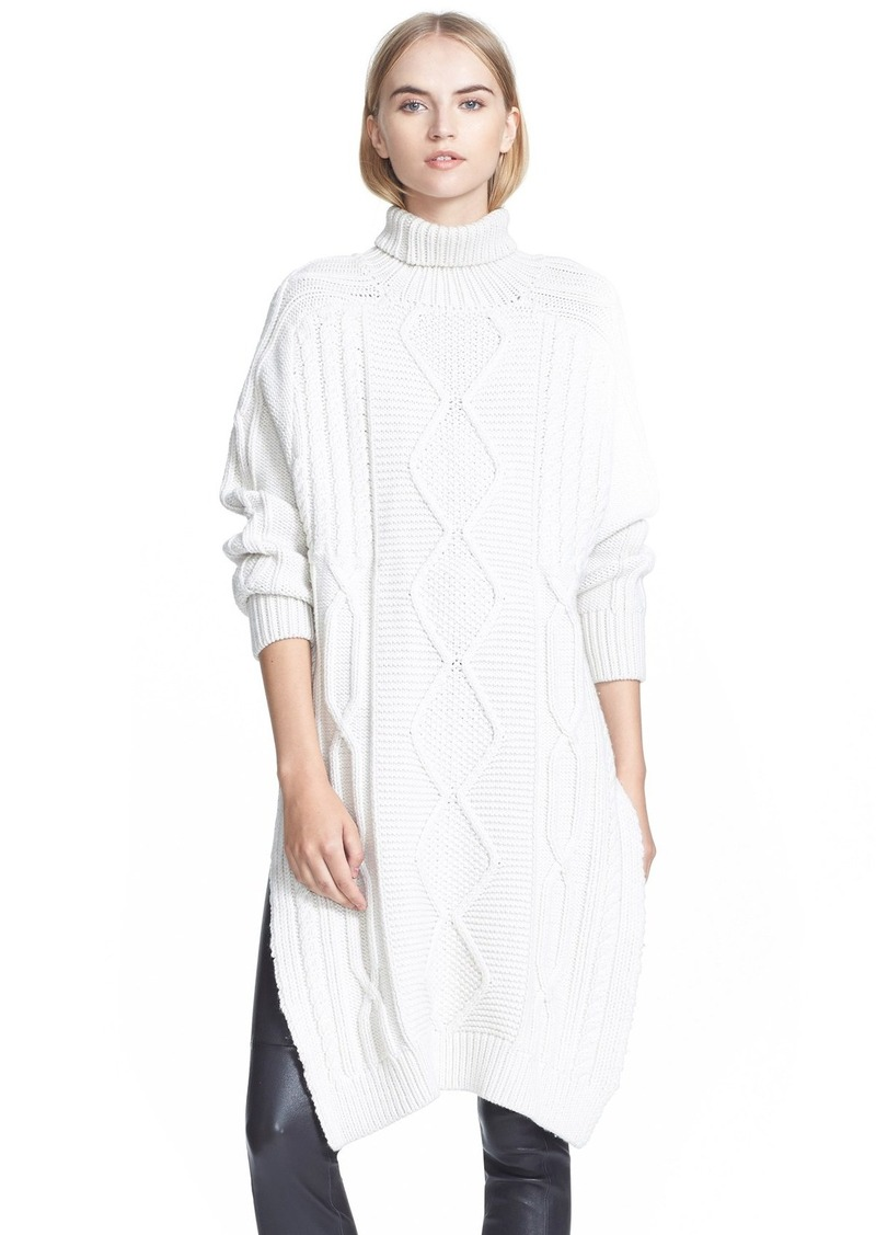Derek lam derek lam 10 crosby wool turtleneck dress for Derek lam 10 crosby shirt dress