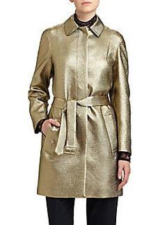 Diane von Furstenberg Yvette Metallic Jacket