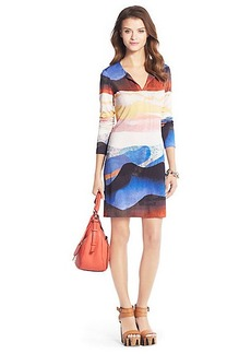 Reina Silk Jersey Tunic Dress