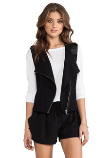 Sanctuary Soft City Vest in Black