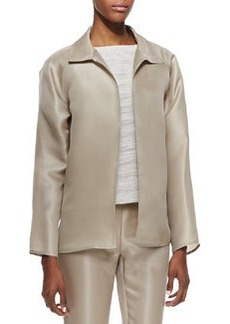 Lafayette 148 New York Zinep Silk Organza Topper Jacket