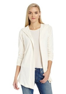 Lucky Brand Women's Sweater Back Hoodie