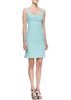 Nanette Lepore Demure Square-Neck Sleeveless Dress
