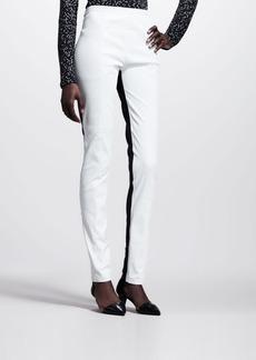 Proenza Schouler Bicolor Leather High-Waist Pants