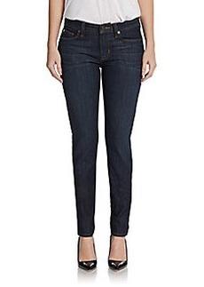 Hudson Mid-Rise Super Skinny Jeans