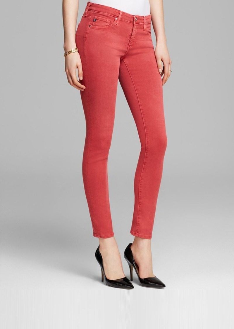 AG Adriano Goldschmied Jeans - Stilt Skinny in Bright Henna
