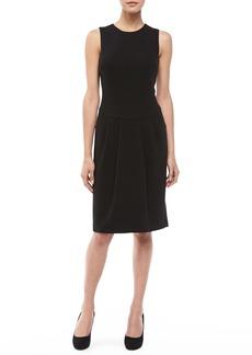 Michael Kors Boucle Pleat-Skirt Dress