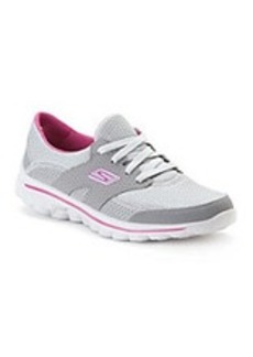 "Skechers® GOwalk™ ""Stance"" Athletic Shoes - Grey/Purple"
