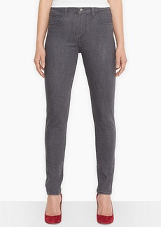 Levi's® Juniors' High-Rise Skinny Jeans, Grey Wash