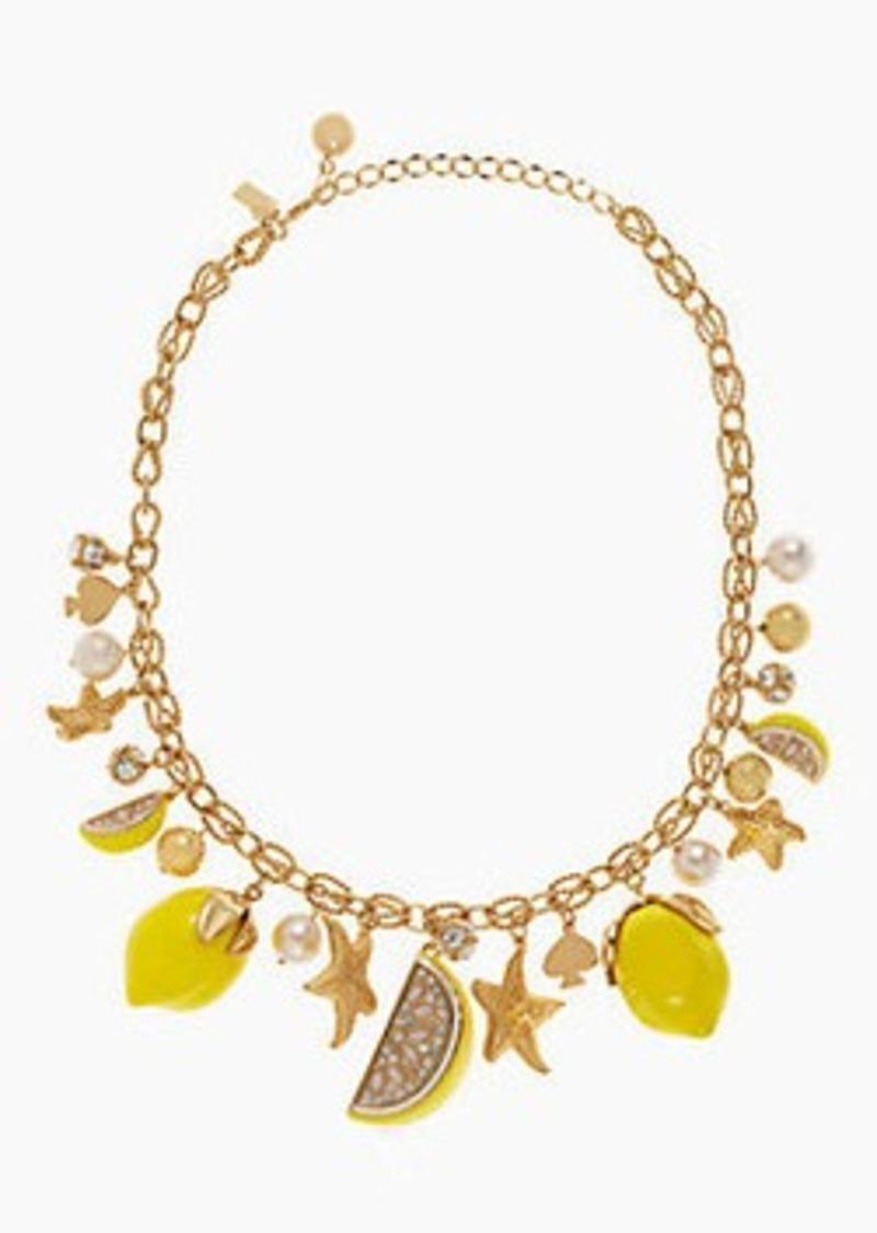 Kate Spade lemon tart charm necklace | Jewelry - Shop It To Me