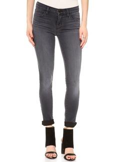 J Brand 620 Black Stocking Super Skinny Jeans
