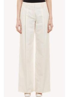 Proenza Schouler Single-Pleated Wide-Leg Trousers
