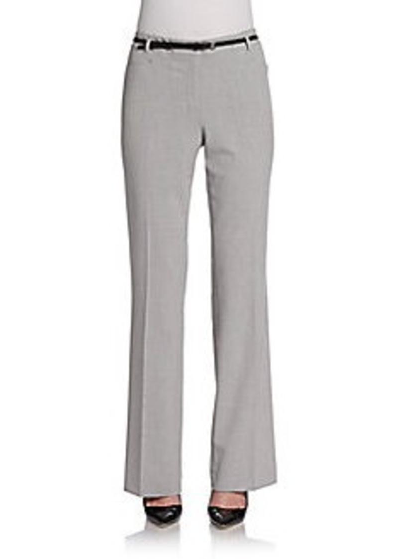 Calvin Klein Belted Cross-Dye Pants