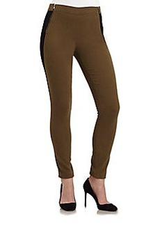 Marc Jacobs Allie Colorblock Stretch Jersey Leggings