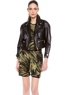 Jason Wu Leather Fringe Motorcycle Jacket