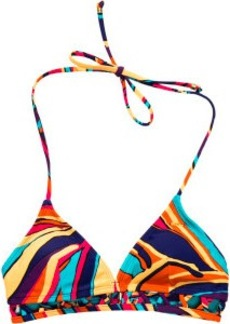Roxy Brazilian Chic Fixed Triangle Bikini Top - Women's