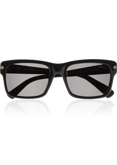 Lanvin D-frame acetate sunglasses