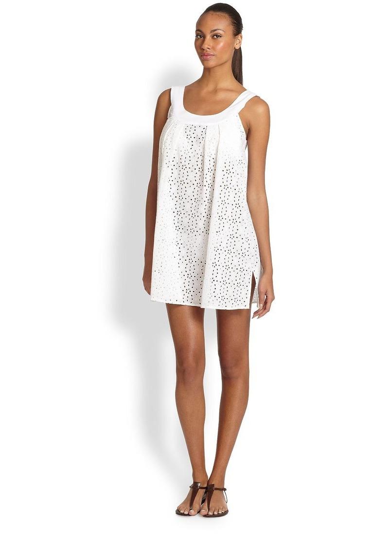 Shoshanna Wilson Eyelet Beach Dress