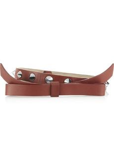 M Missoni Embellished leather belt