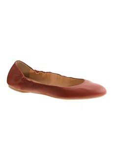 Emma leather ballet flats