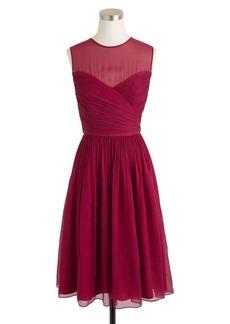 Clara dress in silk chiffon