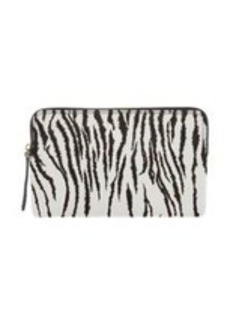 Lanvin Haircalf Zip Clutch