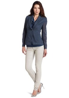 Jones New York Women's 2 Pocket Blazer