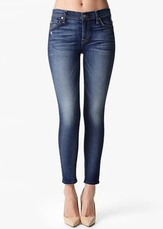 """The Ankle Skinny in Super Grinded Blue (28"""" Inseam)"""