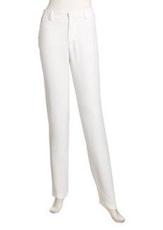 Nanette Lepore Narrow Straight-Leg Pants, White