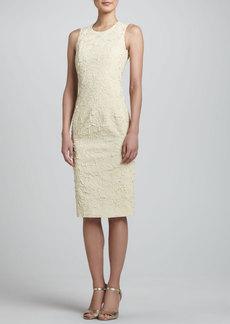 Michael Kors Georgette Sheath Dress, Ivory