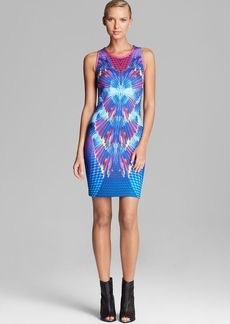 Laundry by Shelli Segal Dress - Sleeveless Neoprene Print Sheath