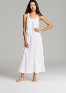 Donna Karan Sleepwear Pima Cotton Long Nightgown