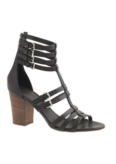 T-strap gladiator high-heel sandals
