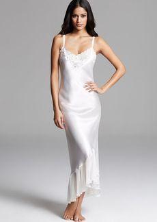 Oscar de La Renta Pink Label Satin Charmeuse Long Gown