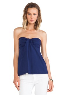 Susana Monaco Kai Strapless Top in Navy