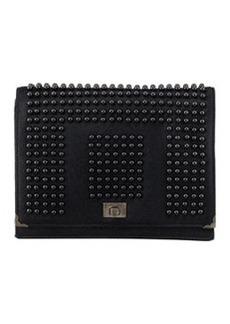 JASON WU Jourdan 2 Studded Wristlet Clutch Bag, Black