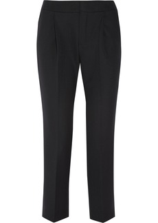 Chloé Wool-twill straight-leg pants
