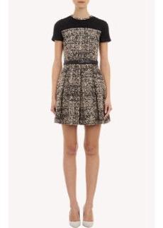 Proenza Schouler Tweed Short-Sleeve Dress