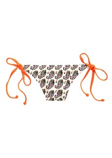 Neon paisley string hipster