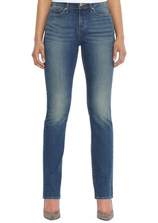 Levi's Petite Straight-Leg Jeans, Golden Coast Wash