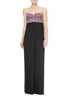 Mara Hoffman Mirror Bustier Maxi Dress