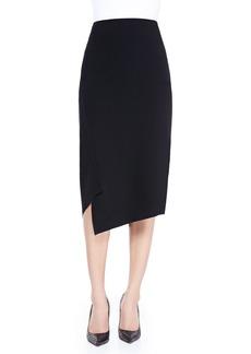 Lafayette 148 New York Asymmetric-Hem Skirt