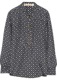 Marni Polka-dot silk blouse