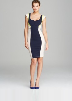 FRENCH CONNECTION Dress - Monroe Stretch Color Block