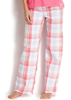 Tommy Hilfiger Woven Contrast Pajama Pants