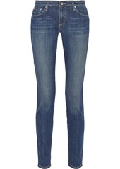AG Jeans Mid-rise skinny jeans