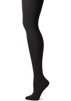 Betsey Johnson Women's Solid Opaque Microfiber Tight