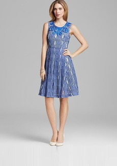 Tracy Reese Dress - Sleeveless Burnout Embroidered