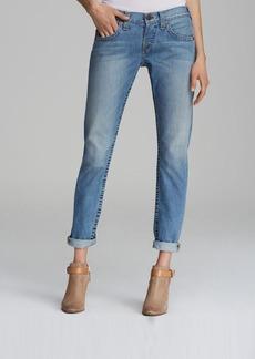 True Religion Jeans - Brianna Mid Rise Boyfriend in Silverlake